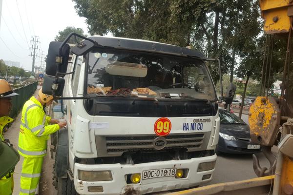 Hà Nội quyết dẹp xe quá tải