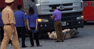 Tai nạn khiến nữ công an tử vong ngay tại chỗ ở Chí Linh -Hải Dương