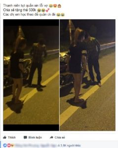 Hình ảnh cùng video được đăng trên mạng xã hội gây xôn xao cộng đồng mạng