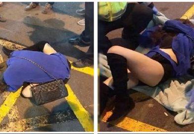 Cô gái bị vứt ra khỏi siêu xe, trong khi vùng k.í.n bị xâm hại thô bạo