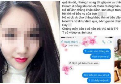 Bị bạn gái cắm sừng,thanh niên đòi trả thù bằng cách tung clip nóng lên mạng