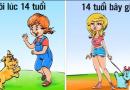 """13 bức tranh cho thấy trẻ em Xưa và Nay khác nhau """"trời vực"""" như thế nào?"""