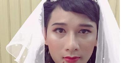 Khi bạn cần mẫu make up và chồng là người mẫu lý tưởng