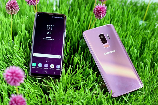 Samsung galaxy s9ngoại hình đẹp và cấu hình mạnh
