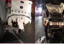 Xử lý vụ chủ xe bị tông chết trên cầu Nhật Tân khi đang thay lốp