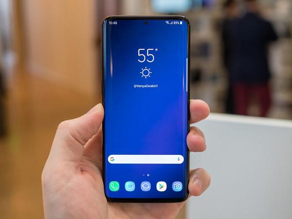 Samsung galaxy s10 vây choáng vì giống iphone XR