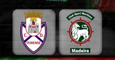 Nhận định Feirense vs Maritimo, 03h15 ngày 11/12: V12 VĐQG Bồ Đào Nha
