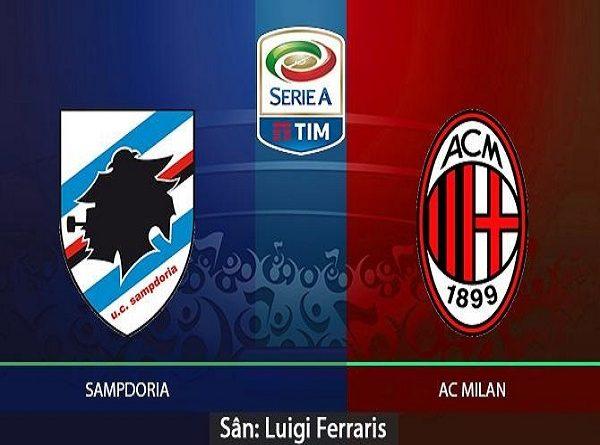 Soi kèo Sampdoria vs AC Milan, 2h30 ngày 31/03