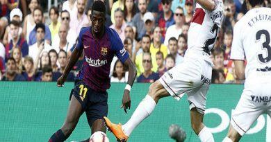"""Barca mơ hủy diệt """"mồi ngon"""" từng thắng 8-2"""