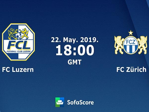Dự đoán Luzern vs Zurich, 1h00 ngày 23/05
