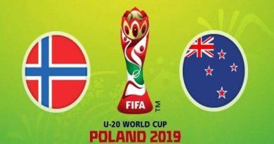 Dự đoán U20 Na Uy vs U20 New Zealand, 1h30 ngày 28/5