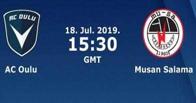 Dự đoán AC Oulu vs Musa, 22h30 ngày 18/07