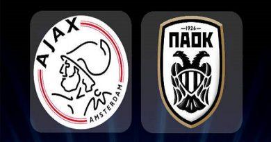 Soi kèo Ajax vs PAOK, 1h30 ngày 14/08