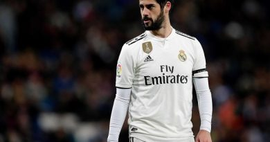Vận đen đeo bám, Real Madrid mất thêm Isco do chấn thương