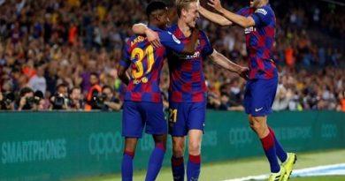 Siêu tiền vệ De Jong tự tin thắng Dortmund là chuyện trong tầm tay