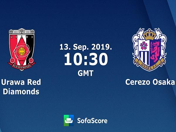 Nhận định Urawa Reds vs Cerezo Osaka, 17h30 ngày 13/09