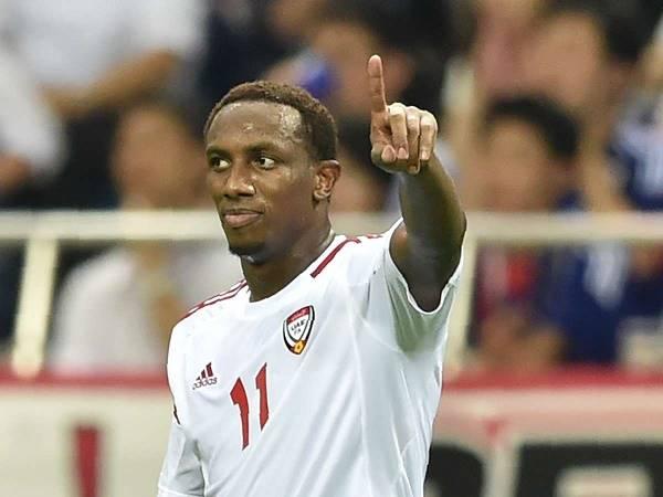 Tiền đạo UAE muốn thắng Việt Nam để bù lại trận thua Thái Lan