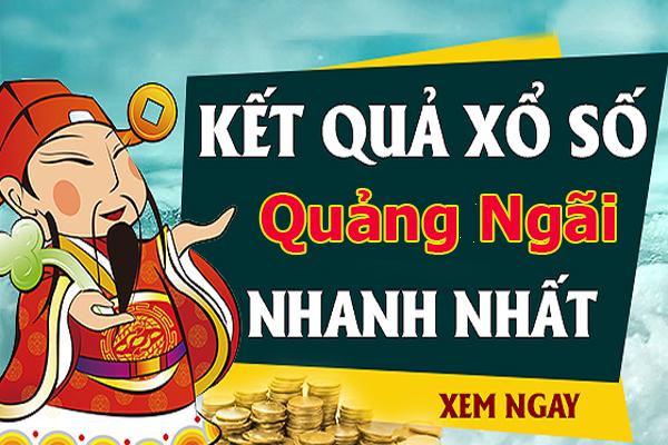Soi cầu XS Quảng Ngãi chính xác thứ 7 ngày 12/10/2019