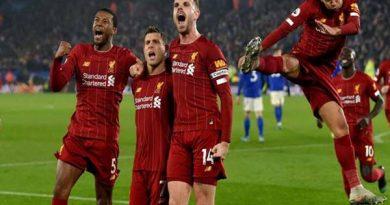 Tin bóng đá ngày 30/12: Liverpool sẽ vô địch