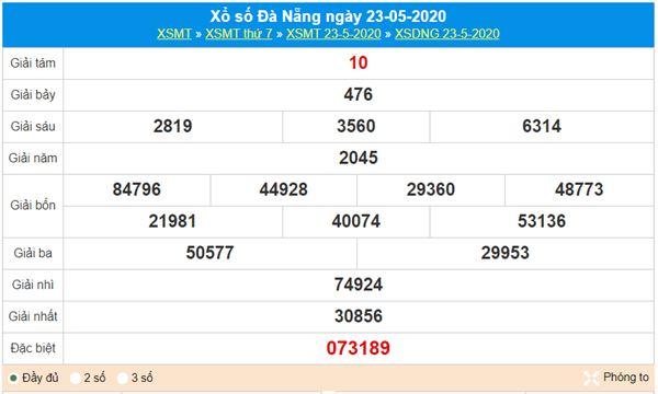Dự đoán XSDNG 27/5/2020 - KQXS Đà Nẵng thứ 4