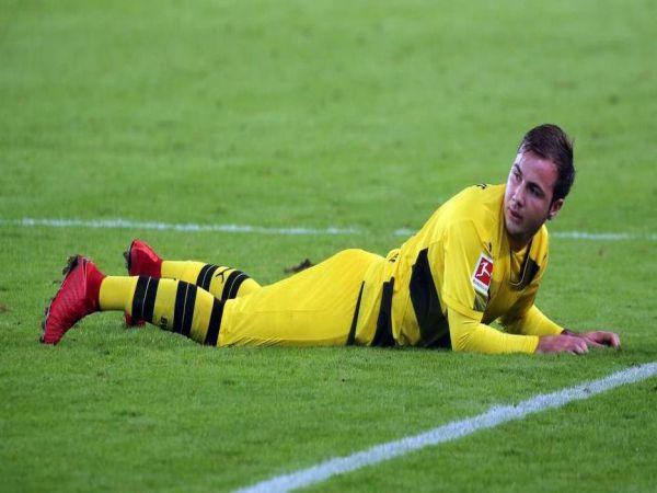 Dortmund đếm ngày chia tay Mario Gotze theo dạng chuyển nhượng tự do