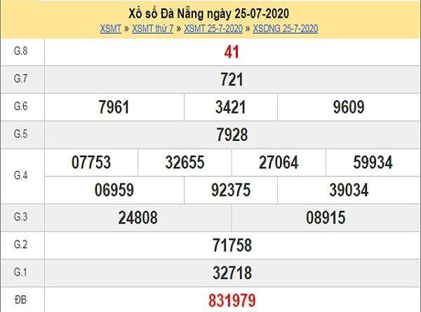 Dự đoán XSDNG 29/7/2020