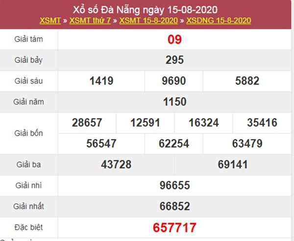 Soi cầu KQXS Đà Nẵng 19/8/2020 thứ 4 siêu chuẩn