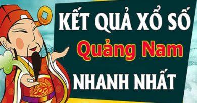 Soi cầu dự đoán xổ số Quảng Nam 15/6/2021 chính xác
