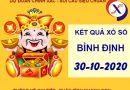 Phân tích SX Bình Định thứ 5 ngày 29-10-2020