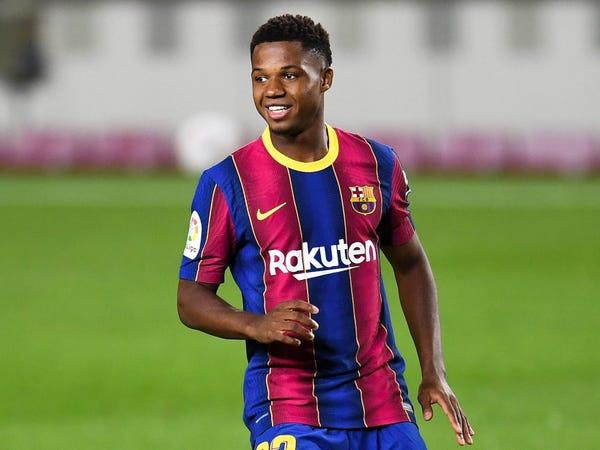 Bóng đá quốc tế sáng 23/11: M.U đồng ý trả 150 triệu euro mua Ansu Fati