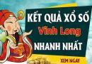 Soi cầu dự đoán XS Vĩnh Long Vip ngày 27/11/2020