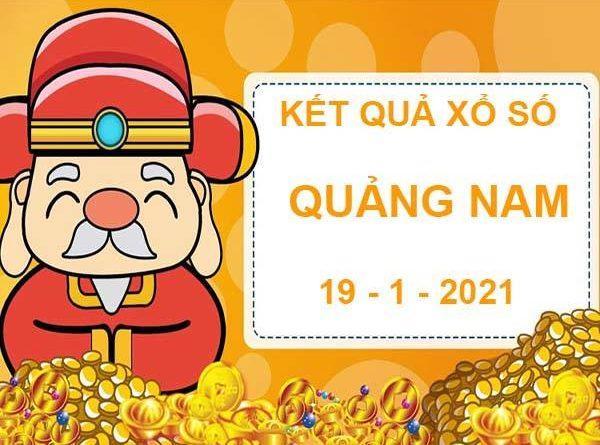 Phân tích Xổ Số Quảng Nam thứ 3 ngày 19/1/2021