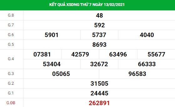 Soi cầu dự đoán XS Đà Nẵng Vip ngày 17/02/2021
