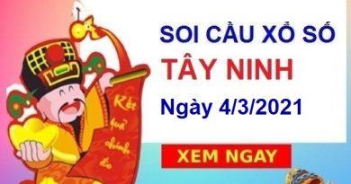 Soi cầu XSTN ngày 4/3/2021 – Soi cầu bạch thủ xổ số Tây Ninh hôm nay