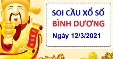 Soi cầu XSBD ngày 12/3/2021