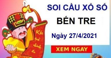 Soi cầu XSBTR ngày 27/4/2021