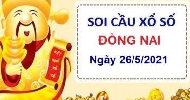 Soi cầu XSDN ngày 26/5/2021