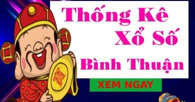 Thống kê xổ số Bình Thuận 27/5/2021