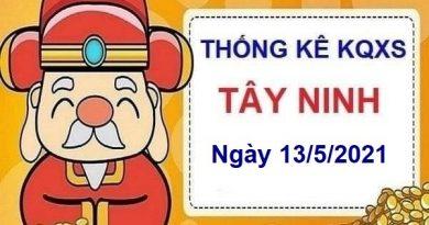 Thống kê KQXSTN ngày 13/5/2021 – Thống kê xổ số Tây Ninh hôm nay thứ 5