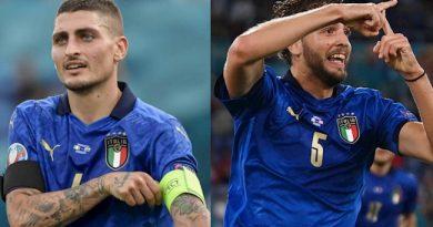Marco Verratti của Ý ca ngợi Anh và dự đoán trận chung kết Euro 2020