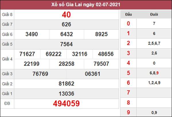 Dự đoán XSGL 9/7/2021 chốt đầu đuôi loto số đẹp thứ 6