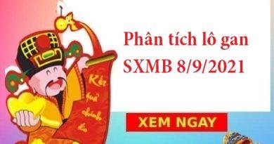 Phân tích lô gan SXMB 8/9/2021