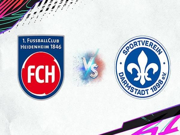 Soi kèo Heidenheim vs Darmstadt – 23h30 24/09, Hạng 2 Đức